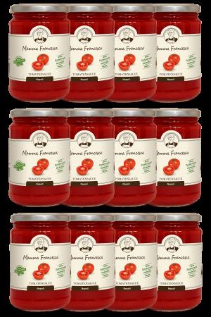 12-er Paket Tomatensauce Napoli 340 g