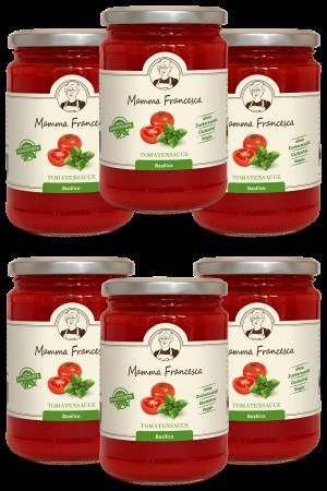 6-er Paket Tomatensauce Basilico 340 g