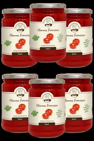 6-er Paket Tomatensauce Napoli 340 g